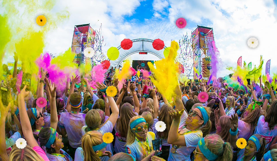 The Color Run – Flower Power edition